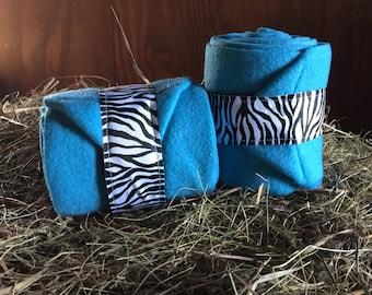 Solid color Wraps with Zebra straps (Choose your Color)