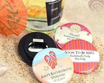 Wedding Favor Bottle Openers, Personalized Bottle Openers - Set of 24