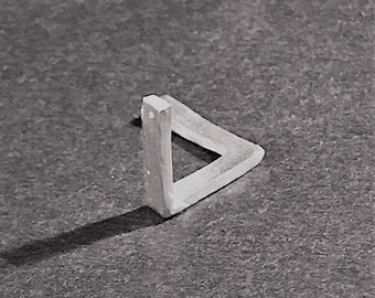 Penrose 'Impossible' Triangle necklace