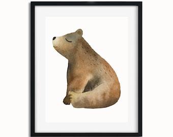 Baby Bear Art Set 3/4