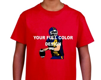Full Color Printing on Youth T-Shirt