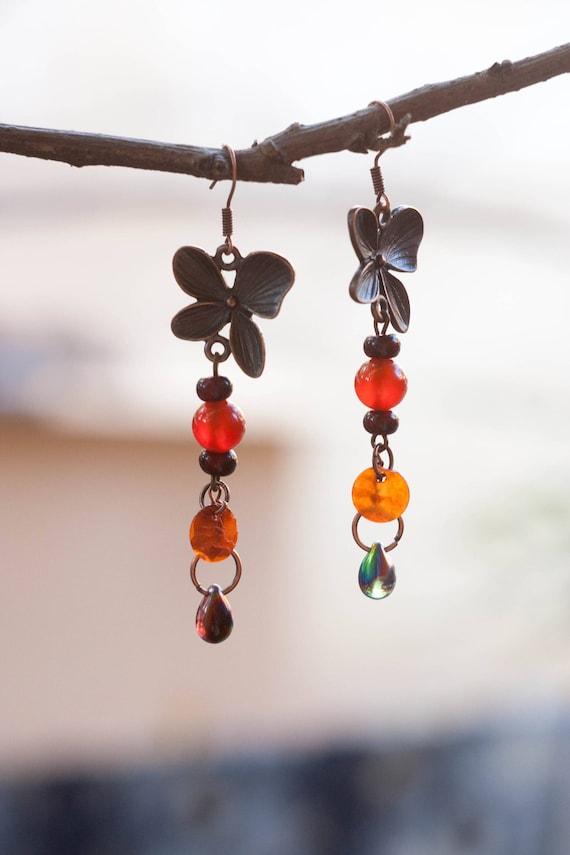 Autumn Earrings Earrings for every day Romantic earrings
