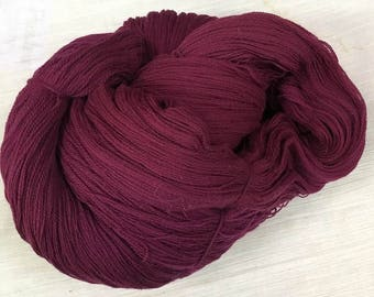 Merlot Lace Weight Yarn