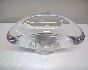 Steuben Glass Console
