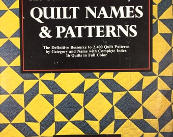 The Collector's Dictionary of Quilt Names & Patterns by Yvonne M. Khin