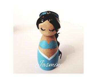 Jasmine peg doll