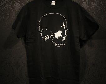 Black skull - T-shirt
