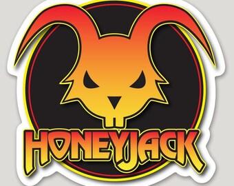 Honeyjack Jackalope Sticker