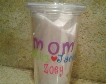 Personalized Mom Tumbler