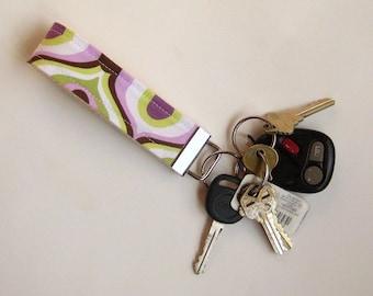 Stolz Eye Purple Schlüsselanhänger