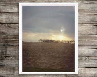 Midwest Sunset Limited Editon Wall Art/Photography