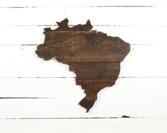 Brazil Pallet Wall Art