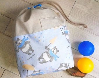Nursery bag, change-bag, cloth bag