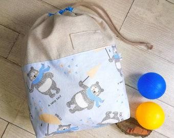 Nursery bag, change-bag, cloth bag