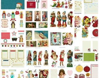 Christmas Printable Journal Kit