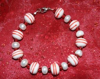 Christmas Candy Bracelet