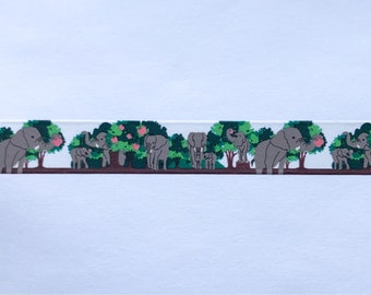 Elephant Paper Tape Sample 24""