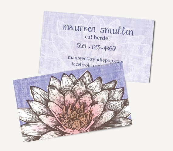 250 lotus zen yoga printed business cards white lotus colourmoves