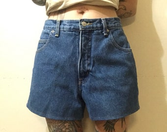Vintage Forenza Denim Shorts - High Waisted Denim Shorts