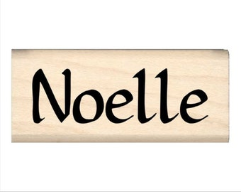 Noelle - Name Rubber Stamp for Kids