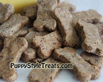 Organic Peanut Butter and Banana Grain-free Dog Treats - 5oz