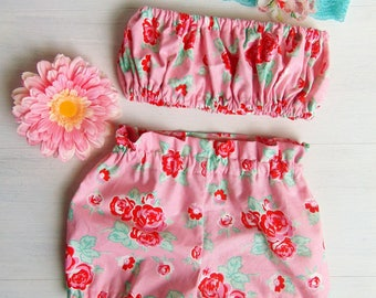 Baby Bloomers /Toddler Bloomers / Flower Bloomers / Baby Shorts Outfit /Baby Girl Bloomer Outfit /Toddler Summer Outfit /Baby Summer Outfit