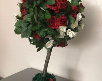 Decorative rose tree