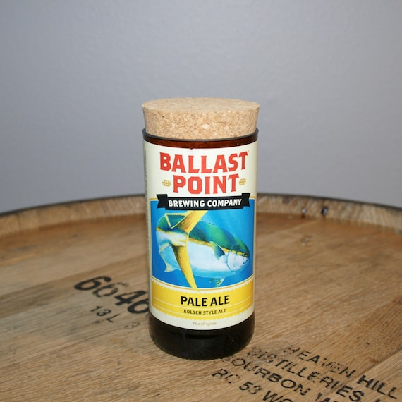 UPcycled Stash Jar - Ballast Point Brewing Co. - Yellowtail Pale Ale
