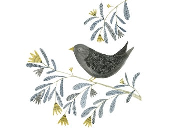 Art print - Bird on a Branch