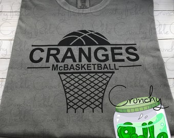 Cranges McBasketball T-shirt