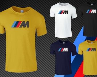Mens BMW Msport Mtech BMW T Shirt Top