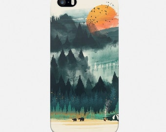 iPhone Case Nature, Forest Phone Case, iPhone 6 Case, iPhone 7 Case, iPhone 6 Plus Case, iPhone 5s Case, iPhone 4 Case, Phone Cover