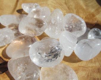 Clear Quartz Medium Tumbled Stone