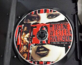 The Decline of Western Civilization DVD ~ Part 1.  X Circle Jerks Black Flag PUNK!