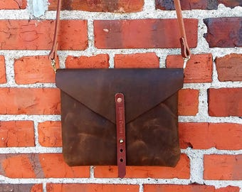 Genuine Leather Cross Body Purse