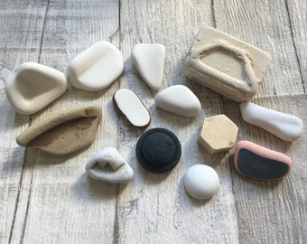 Beach Pottery Finds Collection