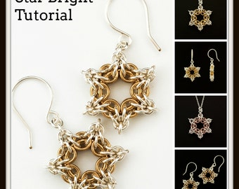 Star Bright Tutorial - Chainmaille Jewelry PDF