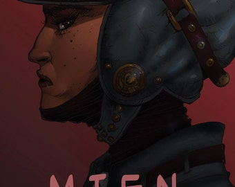 Mien: An Ashcan Sketchbook