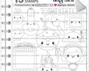 Meal Stamp 80OFF Commercial Use Digi Digital Image
