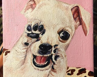 "Custom Pet Portrait 5""x5"""