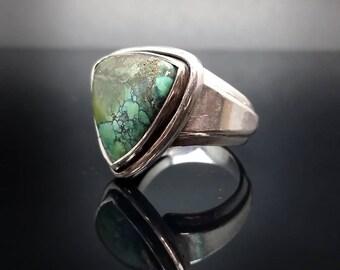 Himalayan Turquoise Ring Size 10 1/4