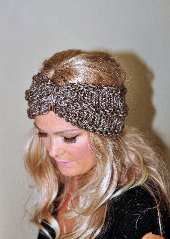 Turban headband earwarmer crochet head wrap knit ear warmer zoom dt1010fo
