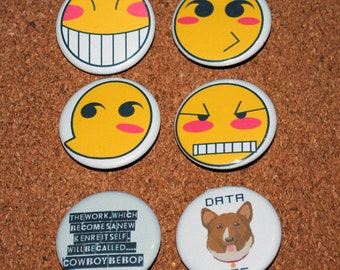 Cowboy Bebop Pin 6 Pack