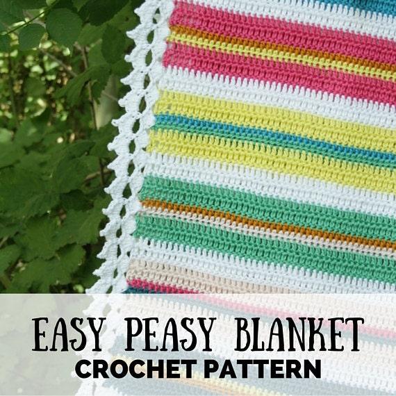 Crochet Pattern Baby Blanket Pdf Crochet Blanket Pattern