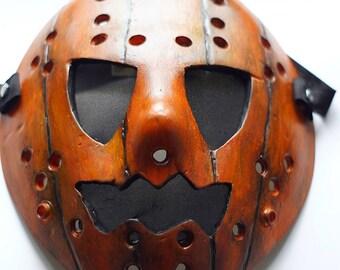Jason Voorhees Friday the 13th Pumpkin Jason mask Orange Hallowen mask