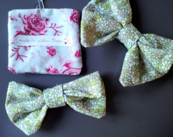 clips hair ties bows liberty style