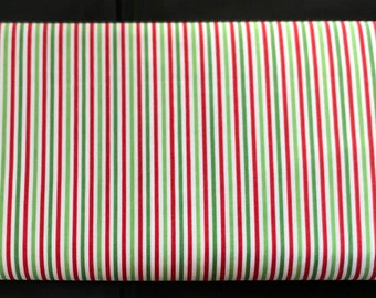 Riley Blake - 1/8 inch Stripe - Christmas - C495