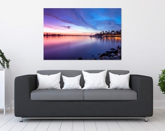 San Diego Mission Bay Sunset Photo Print | Wall Art | Nature and Landscape Photography | (5x7, 8x10, 10x15, 12x18, 16x24, 20x30, 24x36)