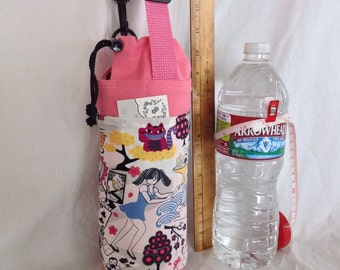 Insulated Tote for 32 - 33.8 oz. (Liter/quart) size containers Alice in Wonderland Japan