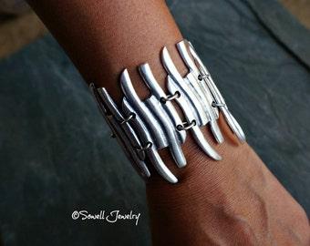 Bursa Silver Bracelet Gypsy Boho Jewelry
